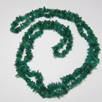 Green Onyx Uncut Beads