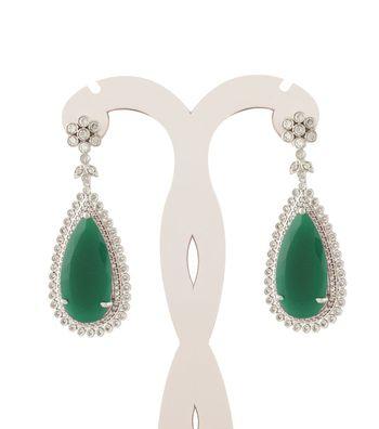 Sihiri Majestic Green Earrings