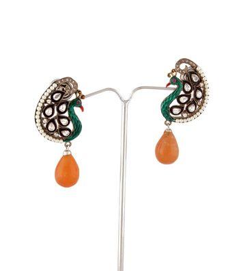 Sihiri Precious Peacock Earring