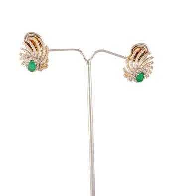 Sihiri Green Fantasy Earrings