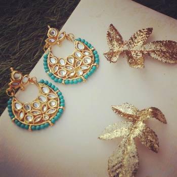 Turquoise Chand Balis