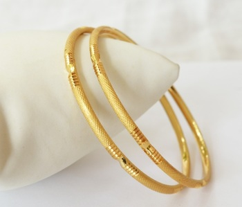 Fine Gold Plated Bangle