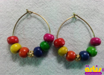 Multicolour Hoops for Teens