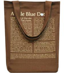 Buy Clean Planet Wise Tote Pale Blue Dot tote-bag online
