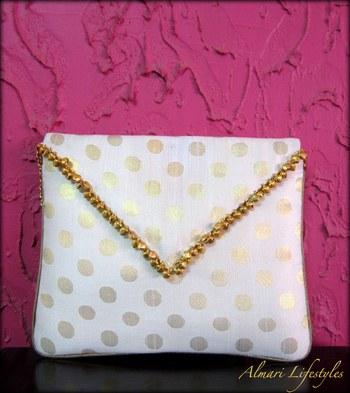 'Ghungroo' Brocade Sling Bag