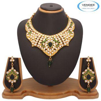 Vendee Fashion Awesome Kundan Necklace Jewelry (7200)