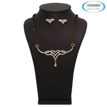 Vendee Fashion Admirable Mangalsutra Pendant Set (7217)