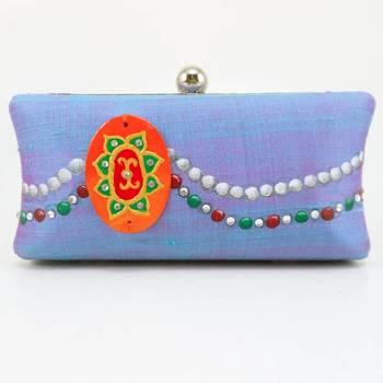 Royal jewel Clutch