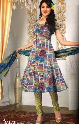 Cotton Dress Material Elegant Designer Unstitched Salwar Suit D.No 3189