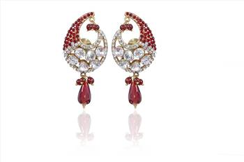Maroon, Stylish Fashion earrings perfect for all occasions