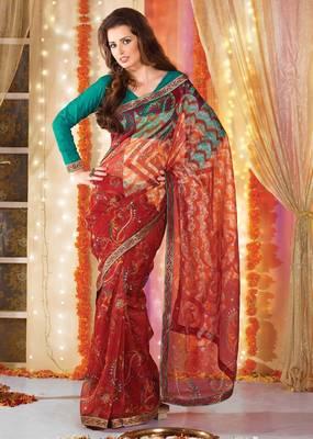 Designer Supernet Sari Jadoo1113