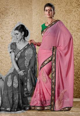 Elegant Designer Sari Gun8410c