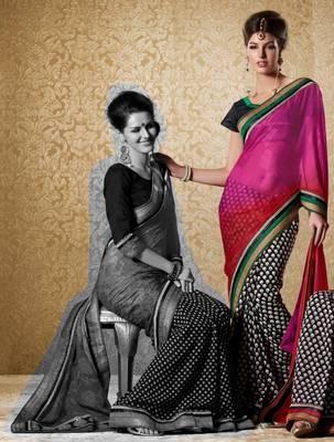 Elegant Designer Sari Gun8419b