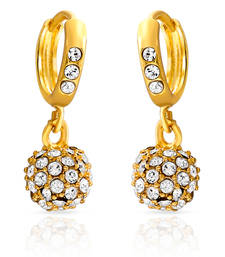 Buy Mahi Royal Gold Sparklers hoop online