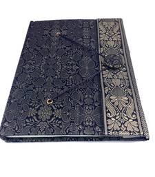 Buy Craftbazar Handmade Brocade saree Diary office-opening-gift online