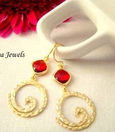Buy Golden Spiral earrings Earring online