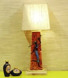 Buy Pyramid Wooden Lamp table-lamp online