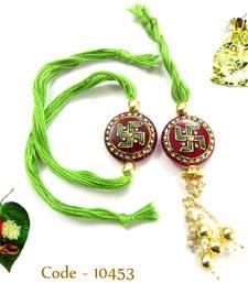 Buy Beautiful Bhaiya Bhabhi Rakhi send-rakhi-to-usa online