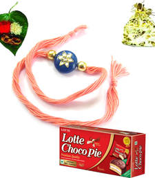 Buy Good Looking Rakhis at affordable prices rakhi-with-chocolate online