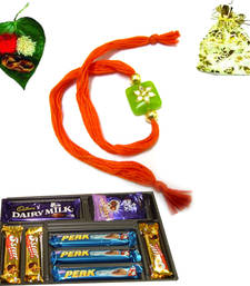 Buy Buy Premium Range Rakhi with chocolates rakhi-with-chocolate online